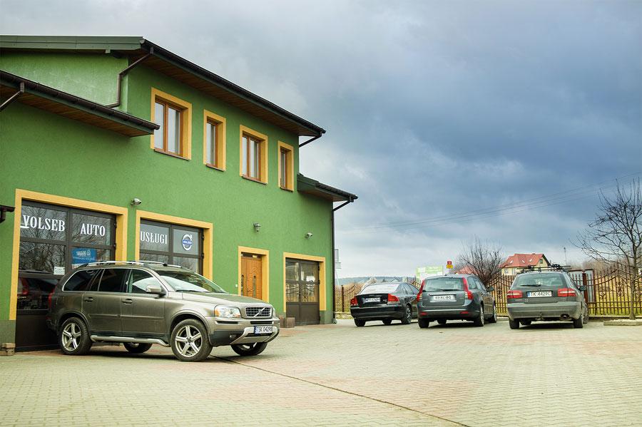 Serwis samochodowy - Volvo